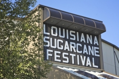 Louisiana Sugar Can Festival Building